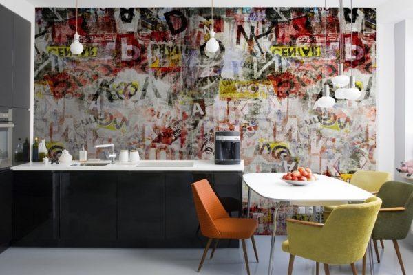 kitchen graffiti art