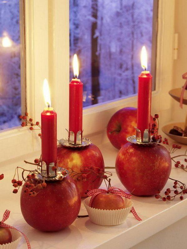 apple theme decorations