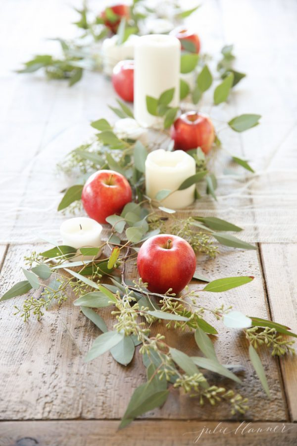 apple table decorations