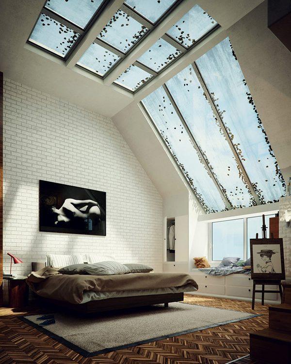 Bedroom skylight ideas 1