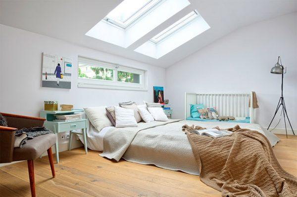 skylight in bedroom too bright 2