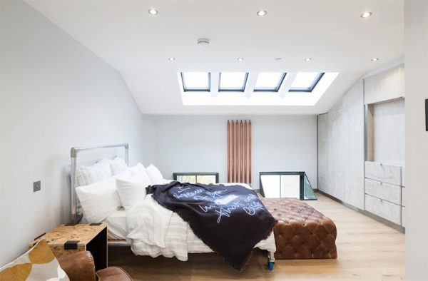 skylight in bedroom too bright