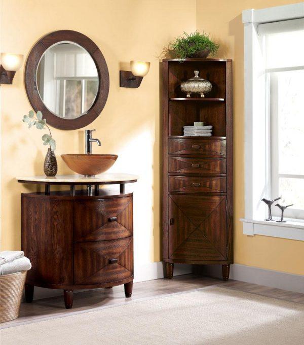 image credit corner bathroom vanities and cabinets
