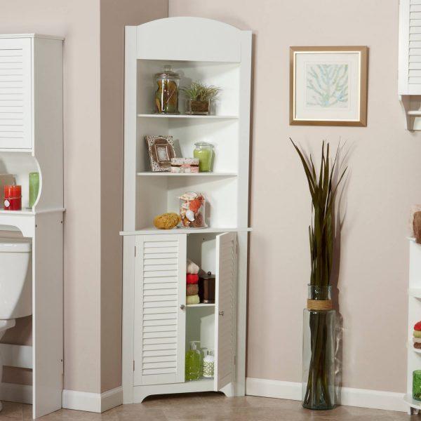 corner bathroom cabinet 1