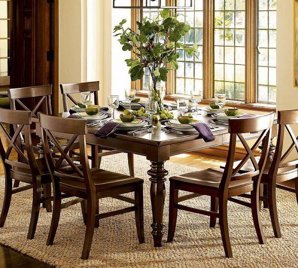 decor dining room table centerpiece