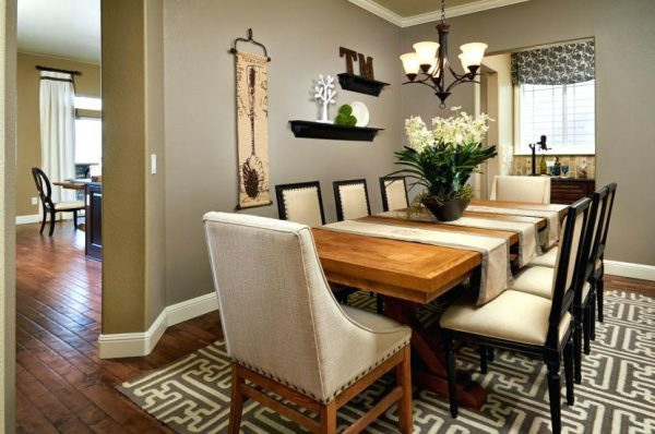 contemporary centerpieces for dining table