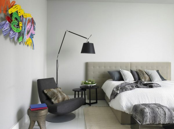 bedroom floor lamps little piece of me. Black Bedroom Furniture Sets. Home Design Ideas