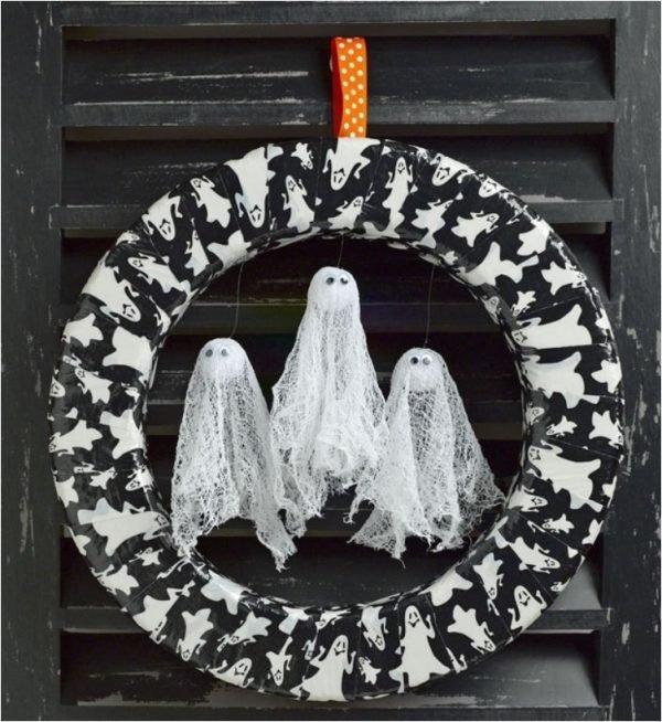 cool halloween wreaths