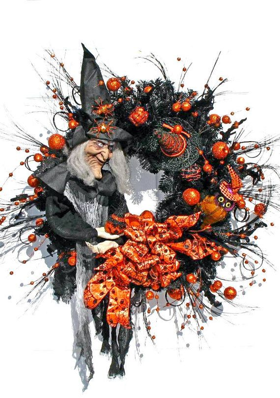 halloween door wreaths