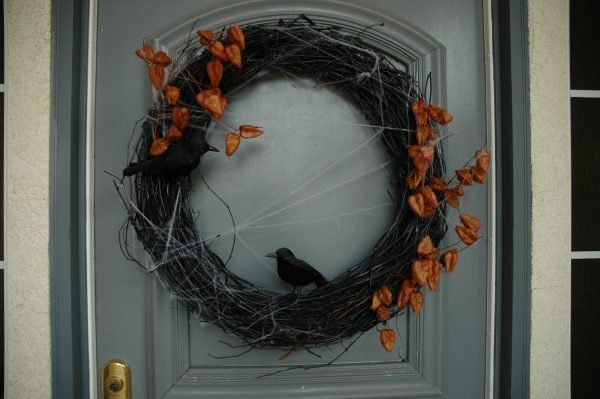 fall and halloween wreaths