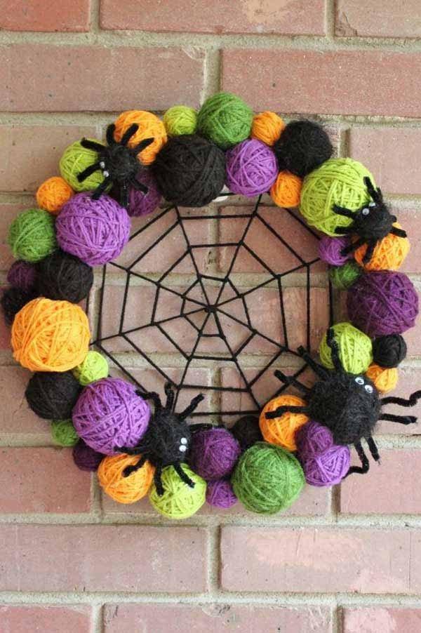 easy halloween wreaths