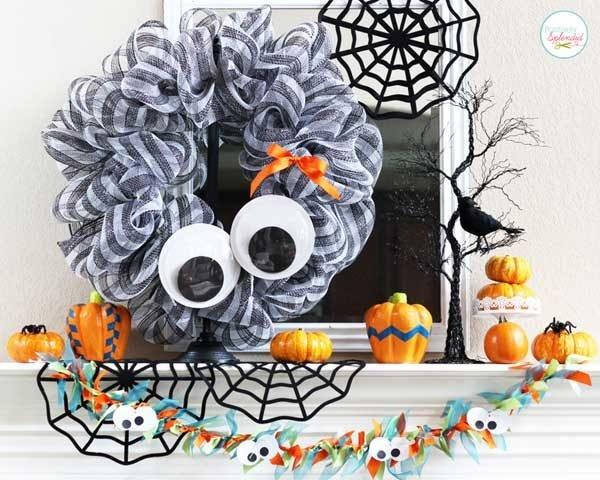fun halloween wreaths