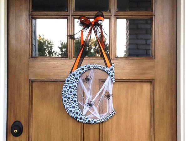 halloween door wreath ideas