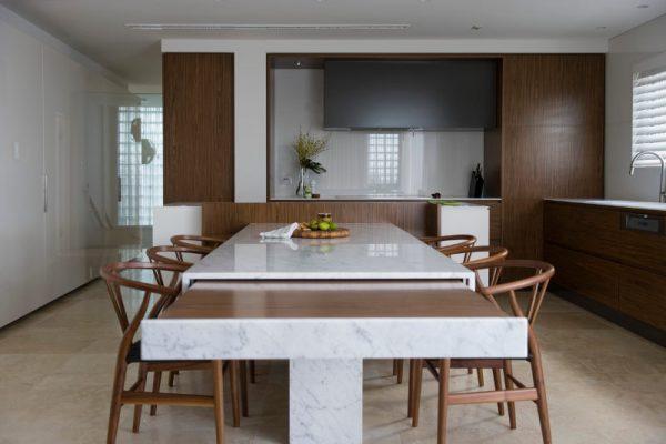 hidden kitchen design