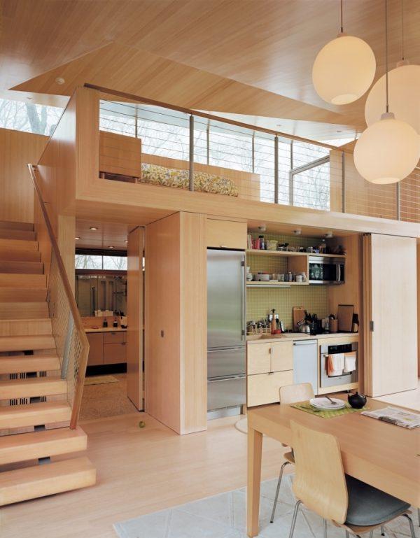 concealed kitchen