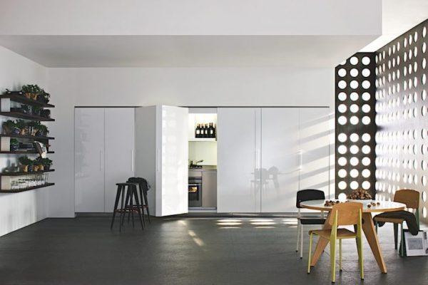 hidden kitchen units