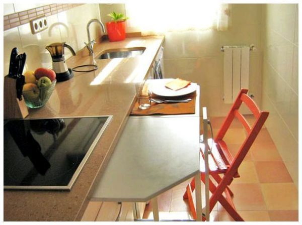 sliding dining table