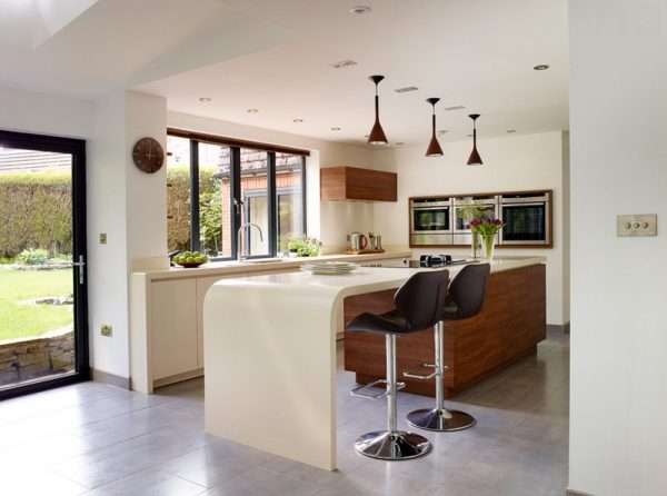 modern pendant lighting for kitchen island