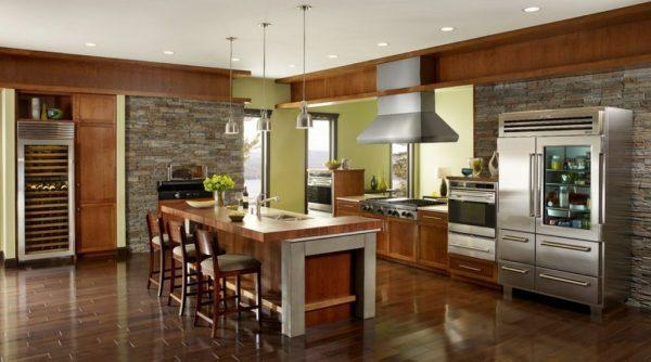 rustic elegant kitchen