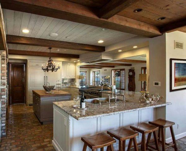 refinishing interior brick floors