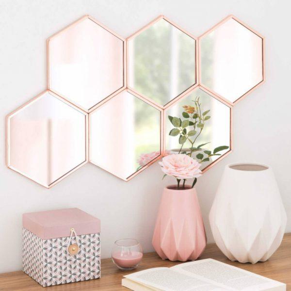 blush pink decor
