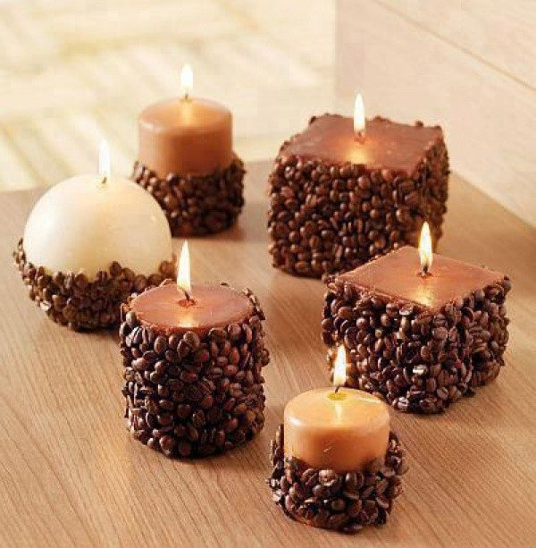 coffee house candles
