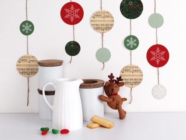 Christmas kitchen decor1