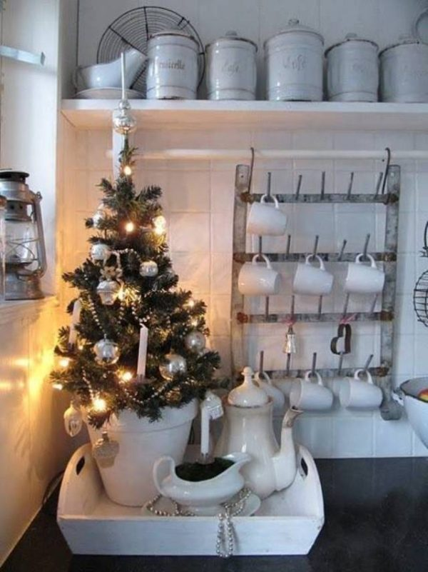 christmas tree kitchen decorations