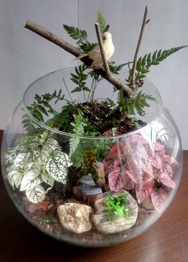 Make Your Miniature Garden In A Glass Bowl Ideas For
