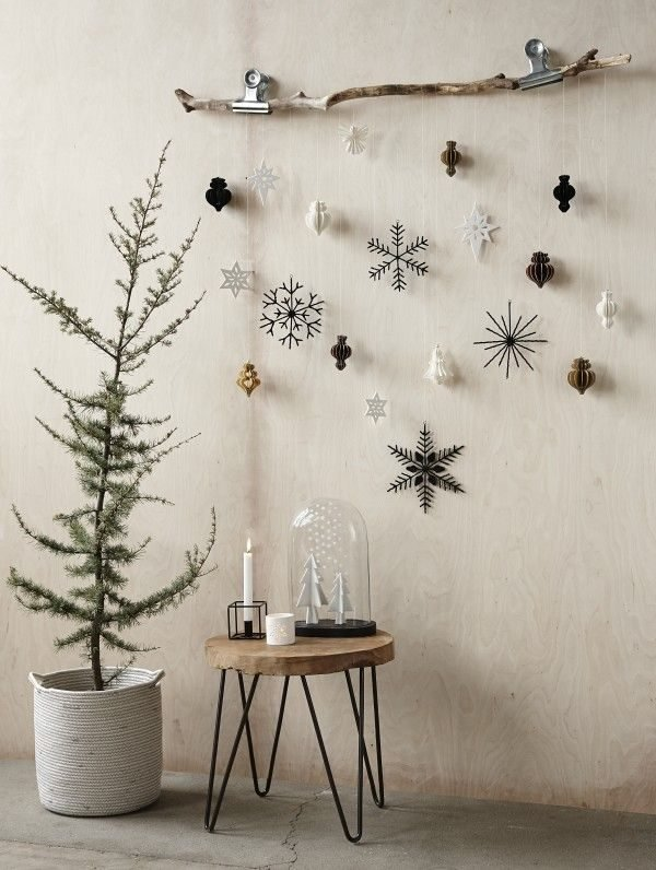 christmas ornament hanging ideas