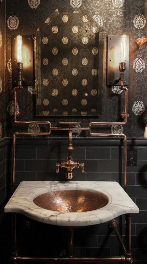 industrial style bathroom ideas