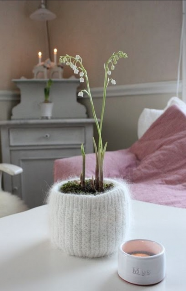 home decor knitting projects