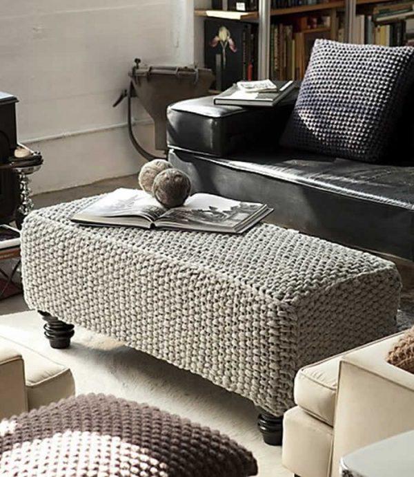 knitted ottoman pattern