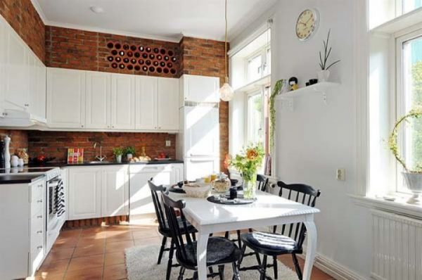 How to decorate space above kitchen cabinets