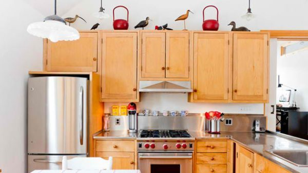 decorative items for above kitchen cabinets