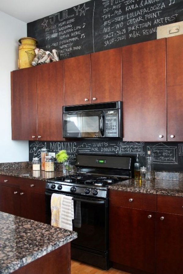 How to decorate space above kitchen cabinets little - What to do with the space above kitchen cabinets ...