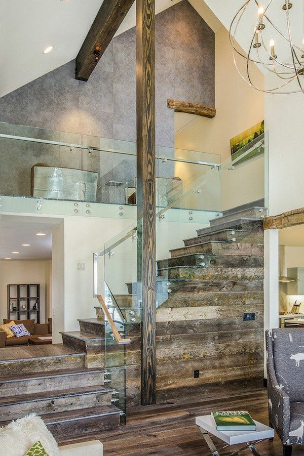 wood stair construction