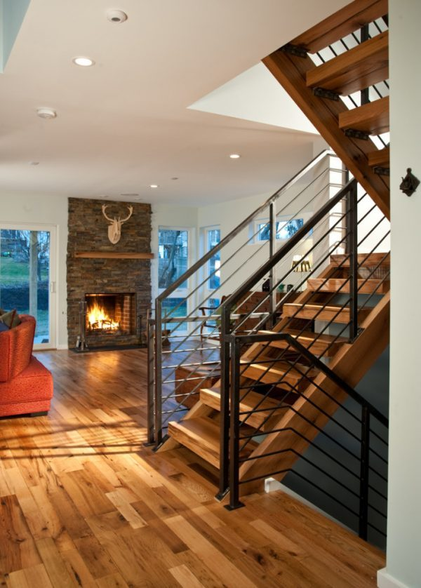 house wood stairs design