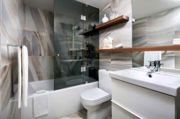 bathroom wall storage shelves