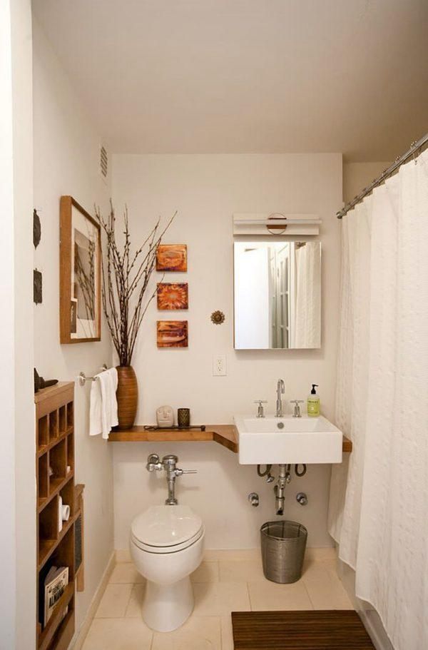 bathroom wall shelves