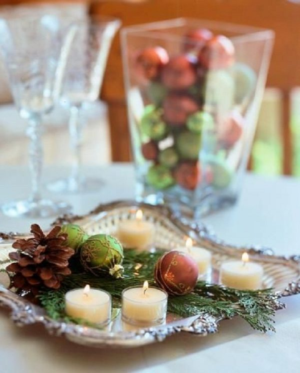 decorative christmas tray 1