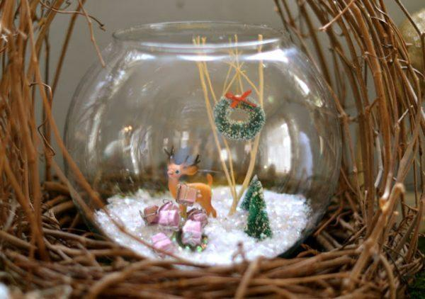 christmas ball terrarium