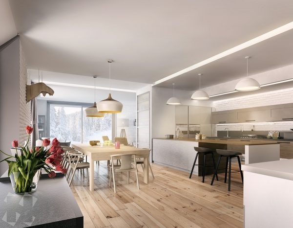 modern wood floors