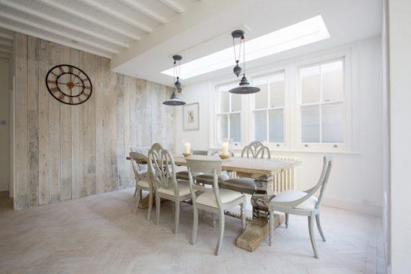 wooden floor interior design