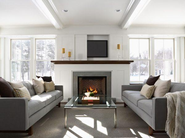 ways to hide tv over fireplace