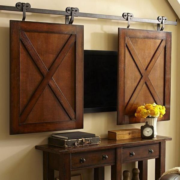 wall mount hidden tv