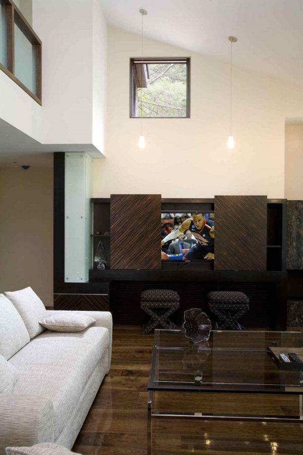 hidden tv furniture