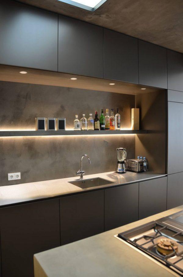 Led lighting for kitchen cabinets