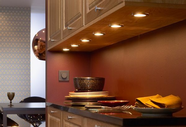 led kitchen light fixtures
