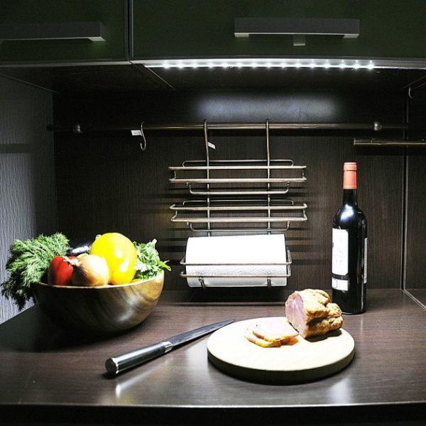 led track lighting under cabinet